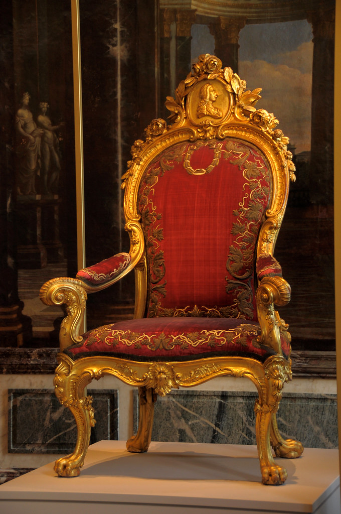 Armchair of Louis XIV