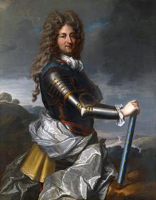 Portrait of Philippe d'Orléans, Duke of Orléans by Jean-Baptiste Santerre
