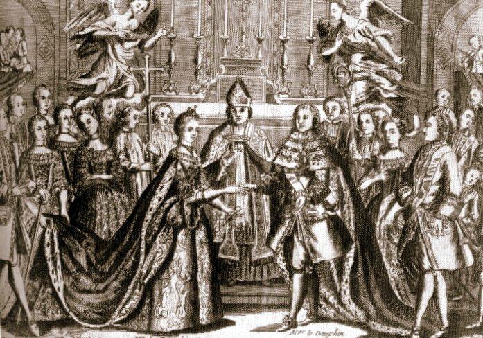 Wedding of Louis XVI and Marie Antoinette